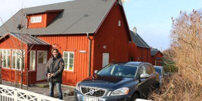 Familien Karlsson fra Sverige