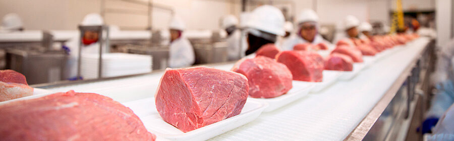 meat processing cover